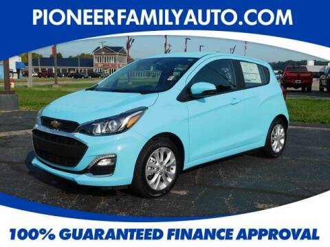 2021 Chevrolet Spark for sale at Pioneer Family auto in Marietta OH