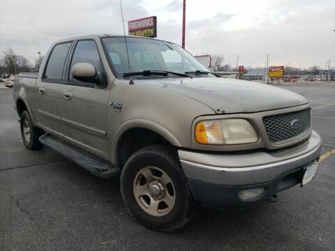 2001 Ford F-150 for sale at speedy auto sales in Indianapolis IN