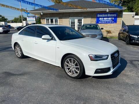 2016 Audi A4 for sale at Brucken Motors in Evansville IN