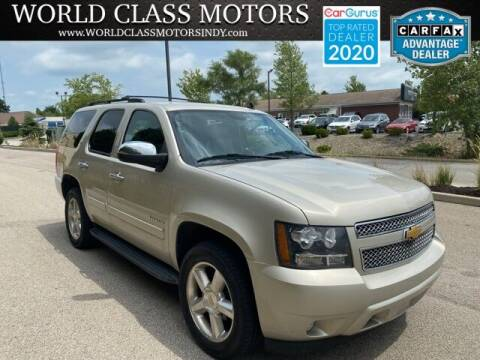 2014 Chevrolet Tahoe for sale at World Class Motors LLC in Noblesville IN