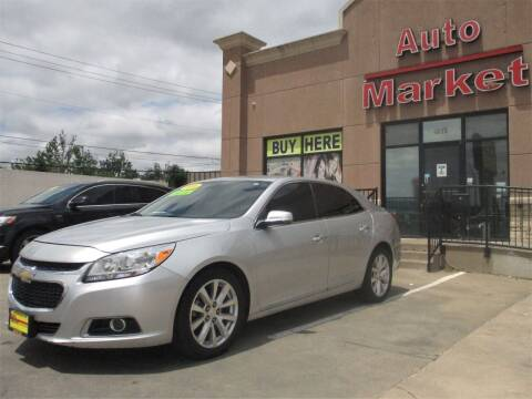 2016 Chevrolet Malibu Limited for sale at Auto Market in Oklahoma City OK