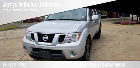 2018 Nissan Frontier for sale at Jerrys Vehicles Unlimited in Okemah OK