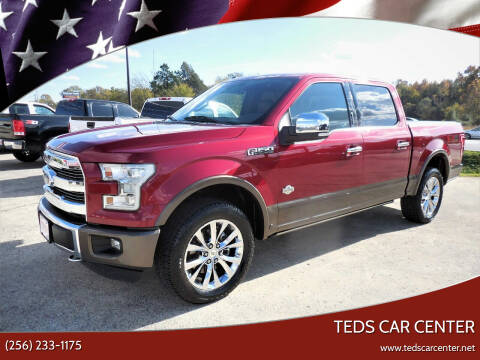 2016 Ford F-150 for sale at TEDS CAR CENTER in Athens AL
