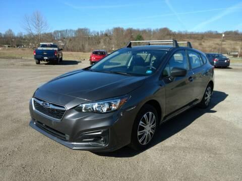 2019 Subaru Impreza for sale at G & H Automotive in Mount Pleasant PA