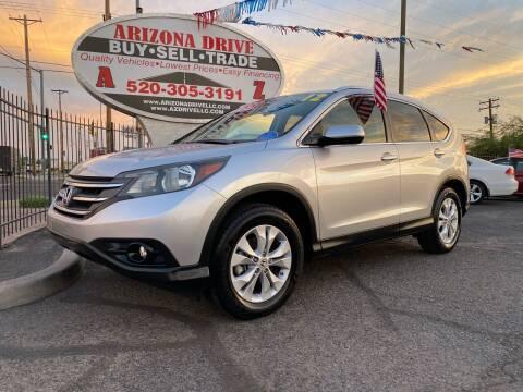 2012 Honda CR-V for sale at Arizona Drive LLC in Tucson AZ