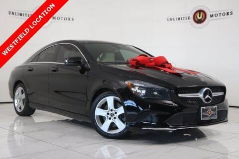 2018 Mercedes-Benz CLA for sale at INDY'S UNLIMITED MOTORS - UNLIMITED MOTORS in Westfield IN
