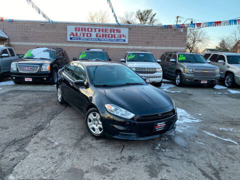 2015 Dodge Dart for sale at Brothers Auto Group in Youngstown OH