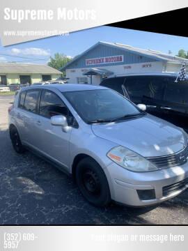 2008 Nissan Versa for sale at Supreme Motors in Tavares FL