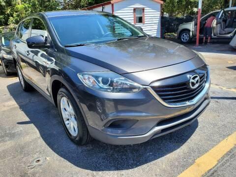 2013 Mazda CX-9 for sale at America Auto Wholesale Inc in Miami FL