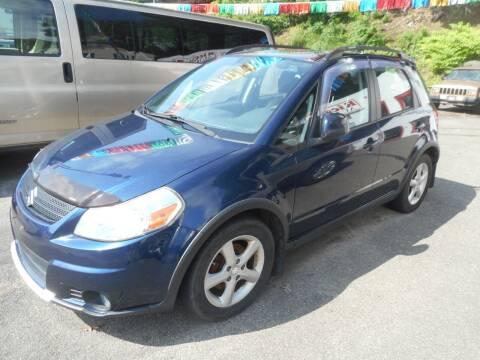 2008 Suzuki SX4 Crossover for sale at Ricciardi Auto Sales in Waterbury CT