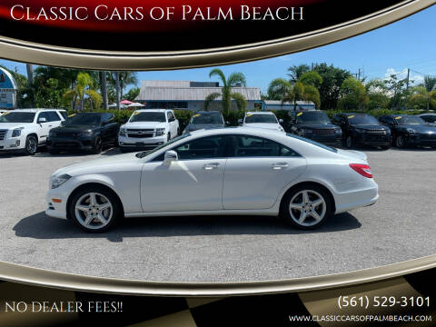 2014 Mercedes-Benz CLS for sale at Classic Cars of Palm Beach in Jupiter FL