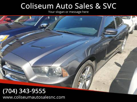 2013 Dodge Charger for sale at Coliseum Auto Sales & SVC in Charlotte NC