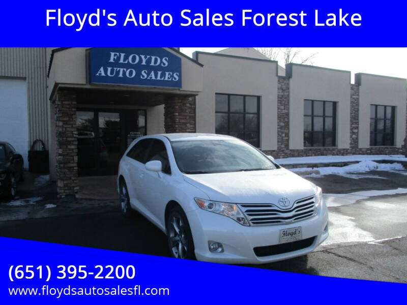 2009 Toyota Venza for sale at Floyd's Auto Sales Forest Lake in Forest Lake MN