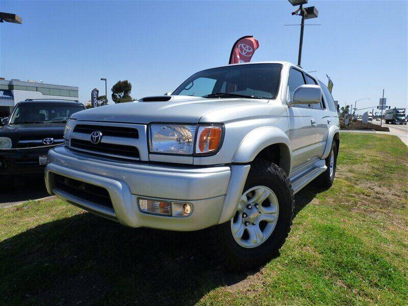2000 Toyota 4Runner for sale at National Motors in San Diego CA