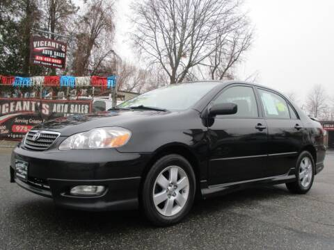 2008 Toyota Corolla for sale at Vigeants Auto Sales Inc in Lowell MA