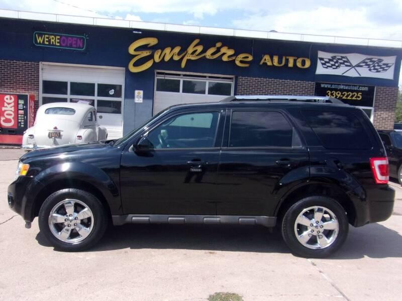 2012 Ford Escape for sale at Empire Auto Sales in Sioux Falls SD