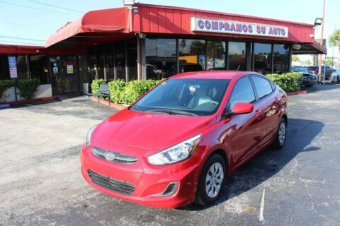 2016 Hyundai Accent for sale at Prado Auto Sales in Miami FL