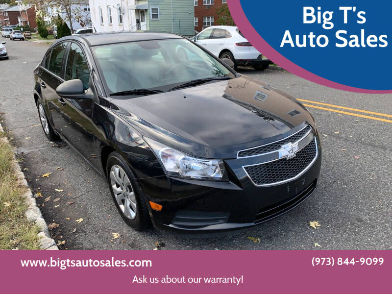 2013 Chevrolet Cruze for sale at Big T's Auto Sales in Belleville NJ