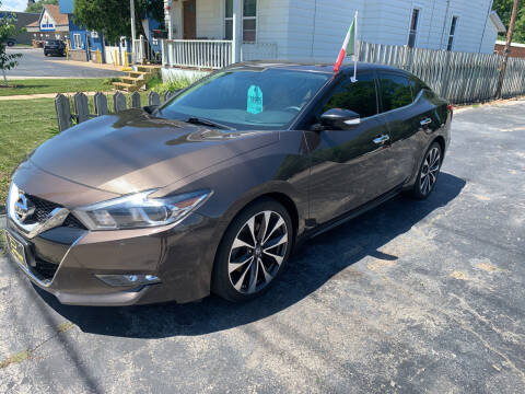 2016 Nissan Maxima for sale at PAPERLAND MOTORS in Green Bay WI