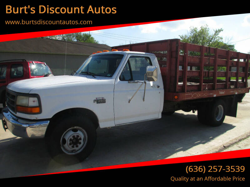 1995 Ford F-350 for sale at Burt's Discount Autos in Pacific MO