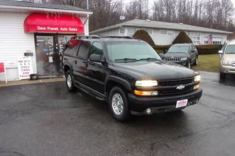 2003 Chevrolet Suburban for sale at Dave Franek Automotive in Wantage NJ