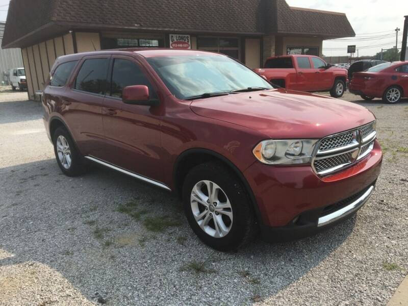 2013 Dodge Durango for sale at G LONG'S AUTO EXCHANGE in Brazil IN