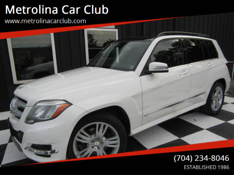 2014 Mercedes-Benz GLK for sale at Metrolina Car Club in Matthews NC