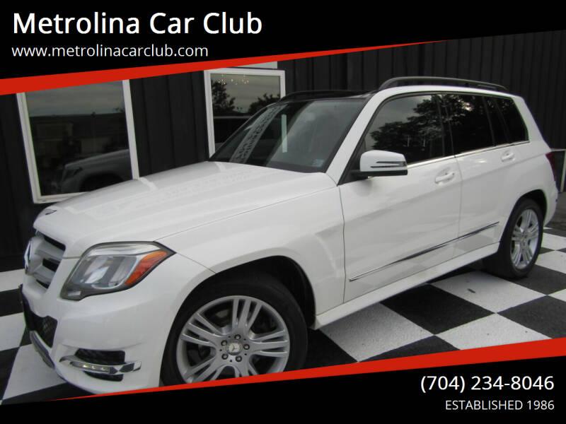 2014 Mercedes-Benz GLK for sale at Metrolina Car Club in Matthews NC