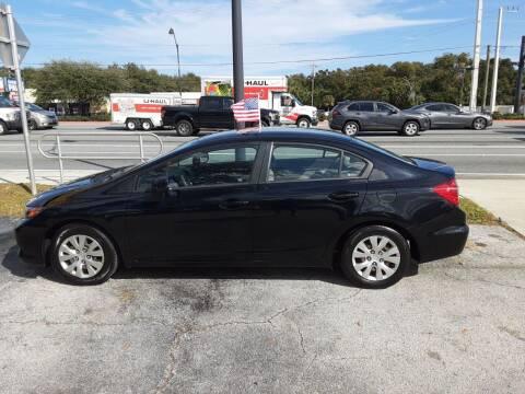 2012 Honda Civic for sale at Easy Credit Auto Sales in Cocoa FL