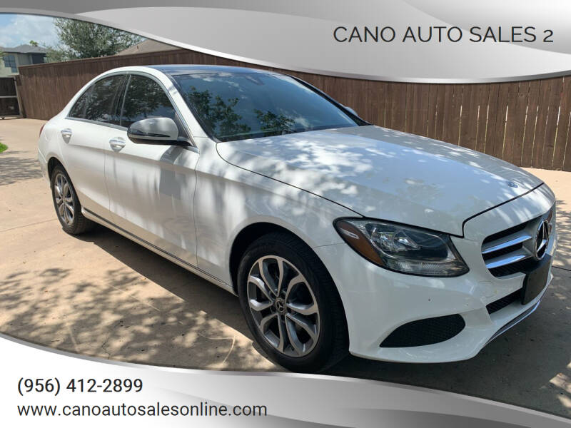 2018 Mercedes-Benz C-Class for sale at Cano Auto Sales 2 in Harlingen TX