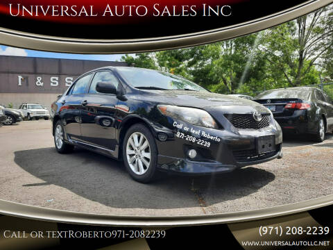 2010 Toyota Corolla for sale at Universal Auto Sales Inc in Salem OR