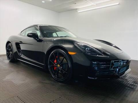 2017 Porsche 718 Cayman for sale at Champagne Motor Car Company in Willimantic CT