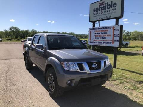 2018 Nissan Frontier for sale at Sensible Sales & Leasing in Fredonia NY