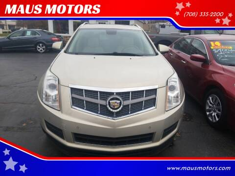 2010 Cadillac SRX for sale at MAUS MOTORS in Hazel Crest IL