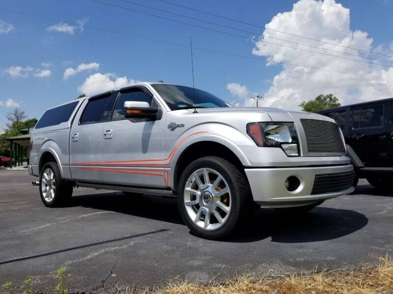 2011 Ford F-150 for sale at Ridgeway's Auto Sales in West Frankfort IL