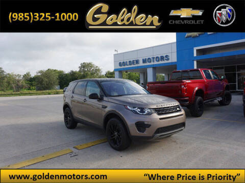 2017 Land Rover Discovery Sport for sale at GOLDEN MOTORS in Cut Off LA