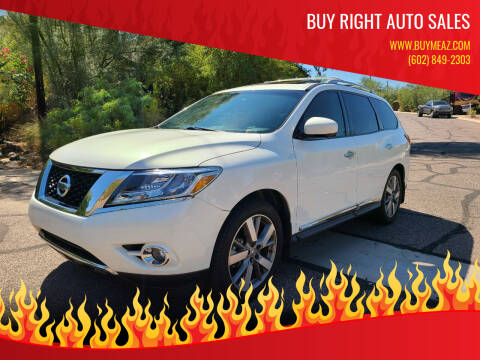 2014 Nissan Pathfinder for sale at BUY RIGHT AUTO SALES in Phoenix AZ