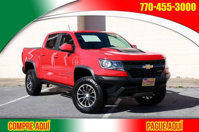 2018 Chevrolet Colorado for sale at El Compadre Trucks in Doraville GA