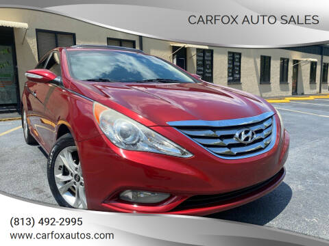 2011 Hyundai Sonata for sale at Carfox Auto Sales in Tampa FL