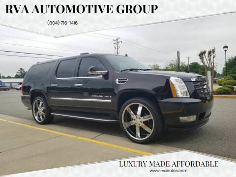 2007 Cadillac Escalade ESV for sale at RVA Automotive Group in North Chesterfield VA