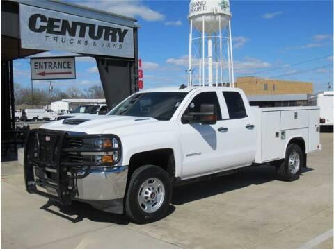 2018 Chevrolet Silverado 2500HD for sale at CENTURY TRUCKS & VANS in Grand Prairie TX