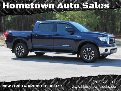 2011 Toyota Tundra for sale at Hometown Auto Sales - Trucks in Jasper AL