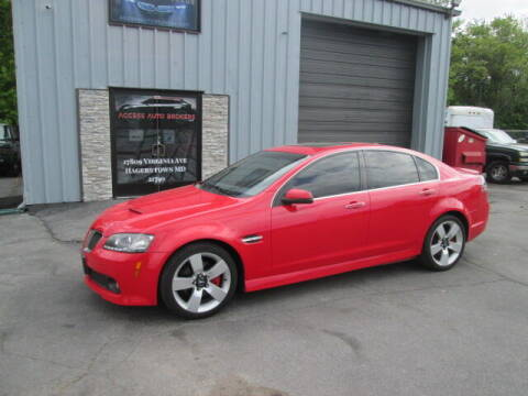 2009 Pontiac G8 for sale at Access Auto Brokers in Hagerstown MD