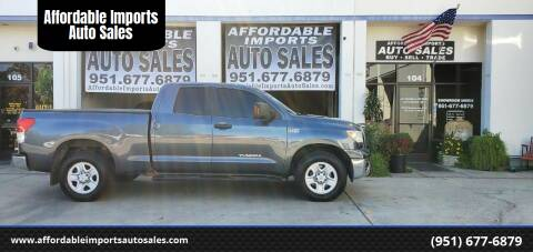 2010 Toyota Tundra for sale at Affordable Imports Auto Sales in Murrieta CA