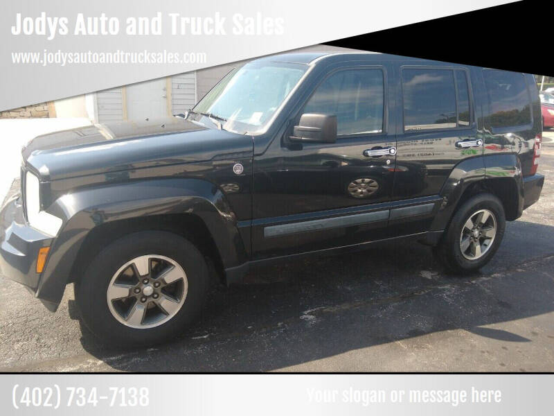 2008 Jeep Liberty for sale at Jodys Auto and Truck Sales in Omaha NE