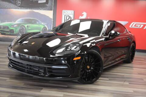 2018 Porsche Panamera for sale at Icon Exotics in Houston TX