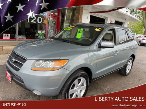 2009 Hyundai Santa Fe for sale at Liberty Auto Sales in Elgin IL
