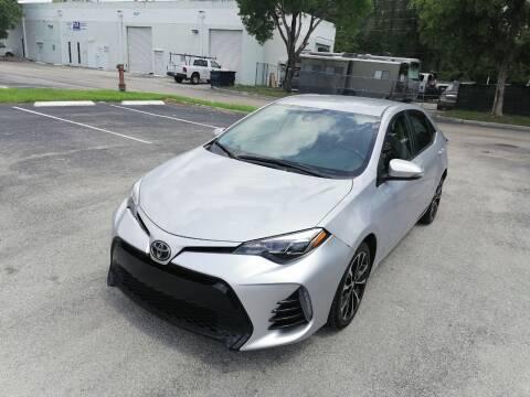 2017 Toyota Corolla for sale at Best Price Car Dealer in Hallandale Beach FL
