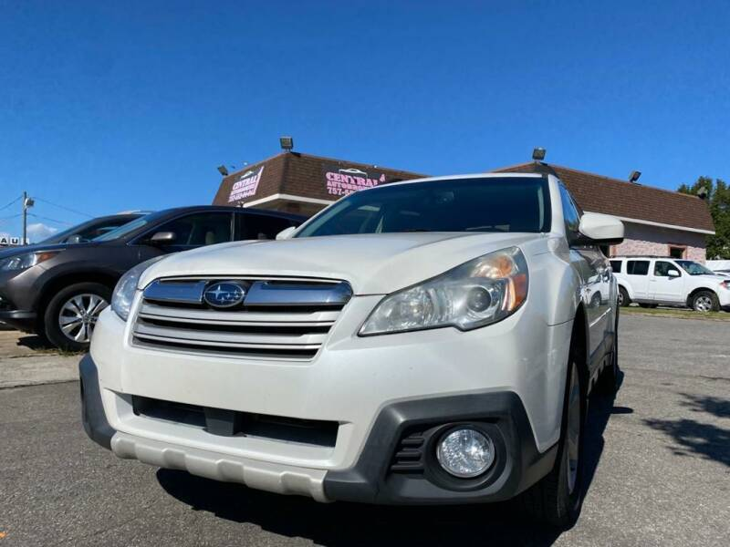 2013 Subaru Outback for sale at Central 1 Auto Brokers in Virginia Beach VA