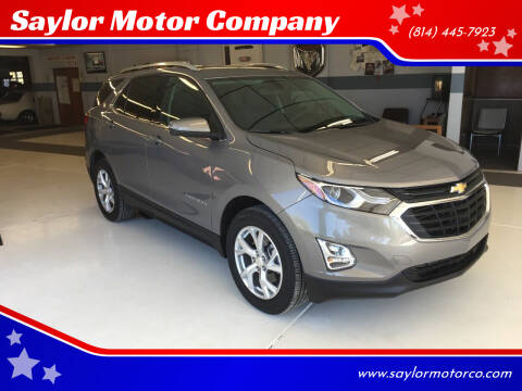2019 Chevrolet Equinox for sale at Saylor Motor Company in Somerset PA